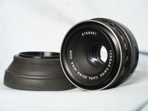 Carl Zeiss Tessar 50mm F2.8 M42 Prime Standard Lens -Great Bokeh-Easy to Convert